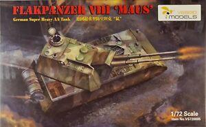 VS720005 Vespid Models Flakpanzer VIII Maus-German Super Heavy Tank Bausatz 1:72