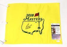 Patrick Reed Signed 2018 Masters Flag JSA Coa