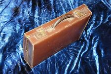 Vintage leather attache case