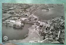 Ansichtskarte Schleswig an der Schlei Luftaufnahme gelaufen 5.6.1958