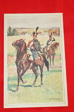 COLONIES CARTE ENGAGEMENT ILLUSTRE BEUZON  MILITAIRE  R392