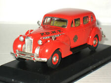 Rextoys 1940 Packard Super Eight 8 F.D.N.Y. Fire Chief Car Diecast 1/43 Rare