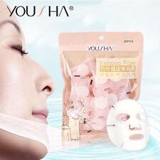 Women Facial Compressed Mask Sheets Skin Care DIY Face Mask Paper Sheet 30pcs #