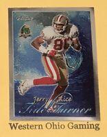 1996 Topps Chrome Jerry Rice #TT10 Tide Turner