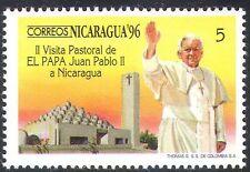Nicaragua 1996 Pope John Paul II/Visit/Popes/Papal/People/Religion 1v n41247