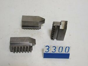 3 chuck jaws for lathe(3300)