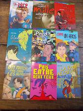 Lot 9 livre de poche Histoires de vies Pris entre deux feux La rage au coeur