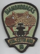 """B CO  4/227th ARB """"DIAMONDBACKS"""" patch"""