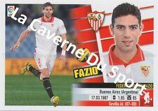 N°05A FEDERICO JULIAN FAZIO # ARGENTINA SEVILLA.FC STICKER PANINI ESTE LIGA 2014