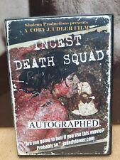 INCEST DEATH SQUAD DVD CORY J. UDLER TOM LODEWYCK