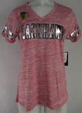 Chicago Blackhawks NHL G-III Women's V-Neck T-Shirt