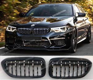 2016+ BMW 5 G30 G31 F90 M Performance DIAMOND Grilles Mille Miglia M340i Z4 look