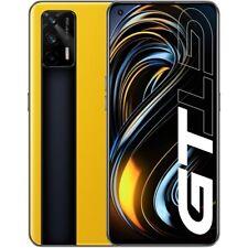 Realme GT 5G Smartphone 256GB 12GB RAM yellow Android LTE Triple-Kamera 4500mAh