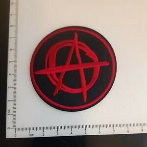 Punk Biker Anarchy Iron On/Heat Transfer Patch - New