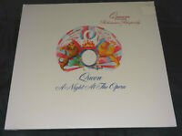Queen A Night At The Opera Sealed Vinyl Record Lp USA 1975 Orig Hype Sticker