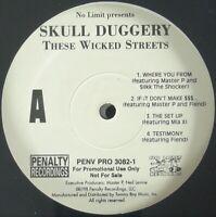 "SKULL DUGGERY ""THESE WICKED STREETS"" 1998 2X VINYL LP ALBUM PROMO MIA X *SEALED*"