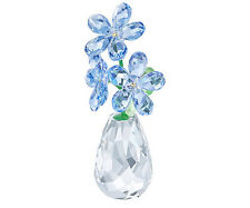 NEW SWAROVSKI FLOWER DREAMS FORGET-ME-NOT #5254325 LOVE BLUE SAVE$ FREE SHIPPING