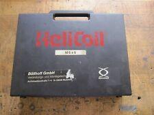New listing Helicoil M6 x 1.0 thread repair Pro Prewinder, taps, drill bits, 50+ inserts