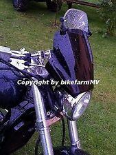Uni SPOILER verstellbar Windabweiser Motorrad Scheibe Windschild Aufsatz ABE