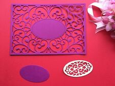 Metal Die Cutter Set Wedding Invitations Handmade Card Frame Die Cuttings DC1467