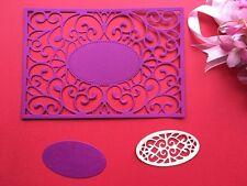 Metal Die Cutter Set Wedding Invitations Handmade Card Frame Die Cuttings DC1467