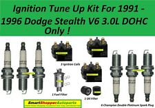 Ignition Tune Up 1991-1996 Dodge Stealth DOHC Ignition Coil, Spark Plug, Filter