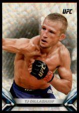 2018 Topps Chrome UFC Knockout Wave #UFCKTD TJ Dillashaw /99