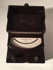 General Electric Ge Bakelite A-C 0-35 Volts Portable Meter Gauge Ap-9