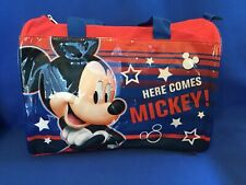 """Disney Junior Licensed Overnight """"Here Comes Mickey!"""" Bag - Mickey Mouse"""