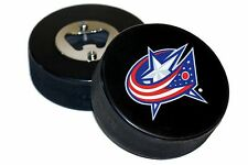 Columbus Blue Jackets Basic Logo NHL Hockey Puck Bottle Opener