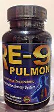Nuevo Sellado RE-9 Pulmon Bronquios Asma Ayuda Sistema Respiratorio 60 capusles