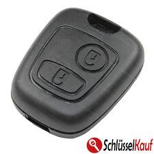 Peugeot Schlüssel Gehäuse 2 Tasten Funkschlüssel 106 206 207 306 307 806 Auto