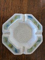 Vintage Ceramic Ash Tray Jacquin Calif Art Ware Mid century Eames Era