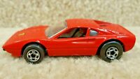 Vintage 1977 1/64 Scale Diecast Hot Wheels Ferrari 308 Racebait Red