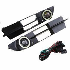 Front LED Fog Light Angel Eye Replace Fit For BMW E60 Sedan/E61 Touring 2004-07