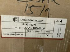 Applied Materials 0190-19374 Lamp 120V 2100W Lp Lot of 4