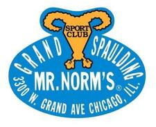 Mr Norms Grand Spaulding Vinyl Decal Sticker Mopar 4045