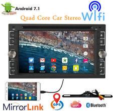 "2018 Quad Core 6.2"" Touch Screen Android 7.1 Car Radio Stereo CD DVD Player GPS"