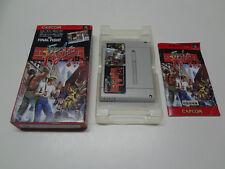Final Fight Nintendo Super Famicom Japan /C