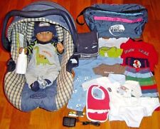 RealityWorks RealCare Baby II Plus Male Doll Diaper Clothes CarSeat Power Supply