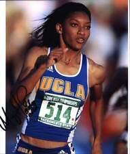 Monique Henderson authentic signed olympics 8x10 photo W/Cert Autographed 05