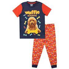 El perro maravilla Pijamas me Waffle niños Waffle la maravilla Perro Pijama Conjunto
