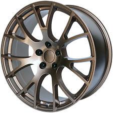 4 Replica V1180 Hellcat 24x10 5x55 18mm Bronze Wheels Rims 24 Inch