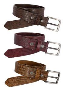 Men's Genuine Real Leather Belt 100% Soft Cowhide Causal & Formal Belt 550