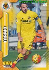 518 MARIO ESPANA VILLARREAL CF CARD MGK LIGA 2017 PANINI