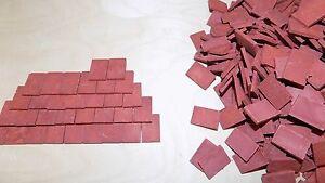 1:12 Scale Dolls House Roof Tiles -  NEW Beaumont' range of Tiles & Ridge tiles