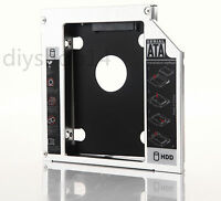 for Sony Vaio VPCF13z1e VPCF22C5E PCG-71811M SATA 2nd HARD DRIVE HDD SSD Caddy