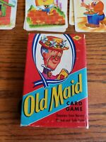 Old Maid Nursery Rhymes and Folk Tales Card Game EE Fairchild USA COMPLETE