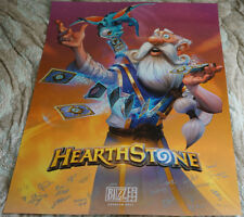 Blizzcon 2017 Official Hearthstone Signed Poster