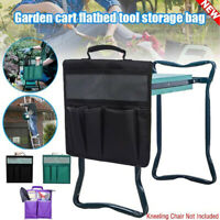 Portable Foldable Garden Tool Bag Oxford Storage Bags Multifunction Organizer